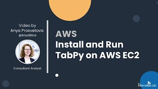 Analytics in the Cloud: Install and Run TabPy on AWS EC2