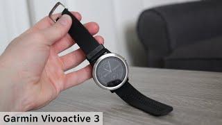 Garmin Vivoactive 3 Smart Watch Review - 2020