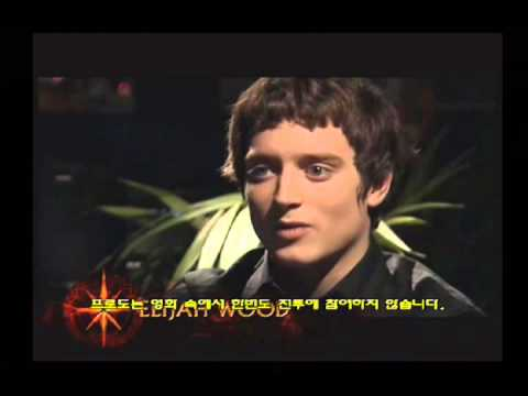 [PS2] The Lord of the Rings The Return of the King - Interview (Elijah Wood)