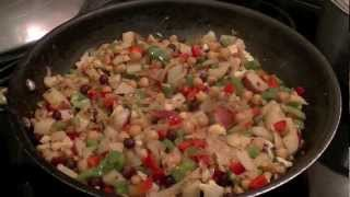 Israeli Couscous And Chickpea Pilaf Recipe