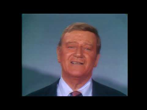 John Wayne  Speaks to Americans of 2020