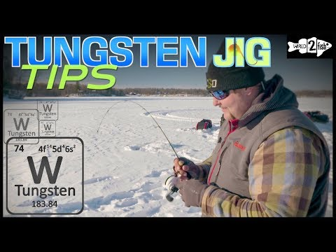 Tips For Ice Fishing Panfish With Tungsten Jigs