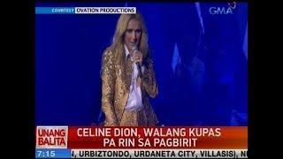 UB: Celine Dion, walang kupas pa rin sa pagbirit