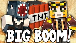 Minecraft - TIME TRAVELLERS! - BIG BOOM! #7 W/Stamps & Ash!