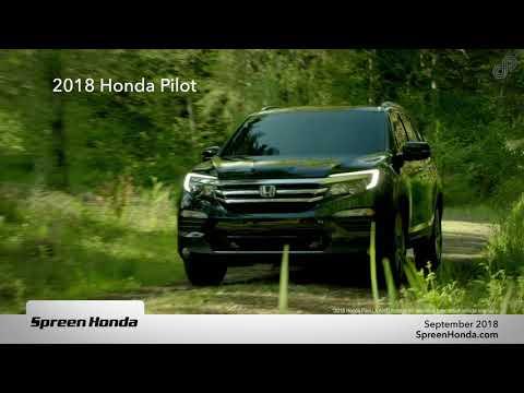 Spreen Honda - Honda Pilot Lease Special (September 2018)