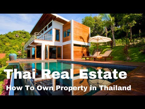 5 Ways To Own Property in Thailand | Thai Real Estate Ownership for Foreigners | Commercial Property