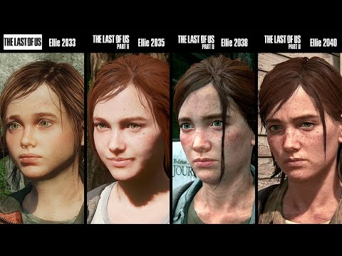 The Last Of Us VS The Last Of Us Part II | Graphics Comparison | Evolution