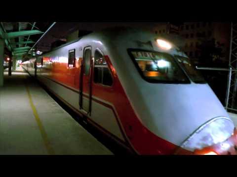 [HD] The Taiwan TRA up Tzu-Chiang Limited Express E1000 Train No. 134 at Zhongli Station