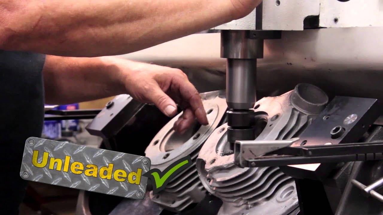 V-Twin Motor Shop: Cylinder Head Remanufacturing