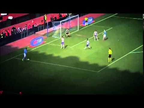 Napoli vs Fiorentina 2-1 - Goal Lorenzo Insigne ( Serie A ) 2015