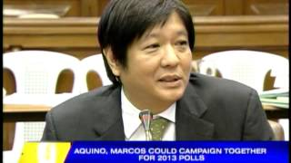 Strange bedfellows: Bongbong, PNoy forge alliance