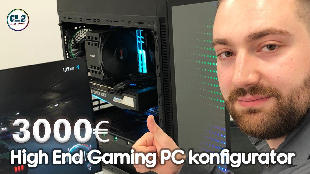 High End Gaming PC Konfigurator ab 3.000€ / Zusammenstellen mit dem CLS Computer Konfigurator