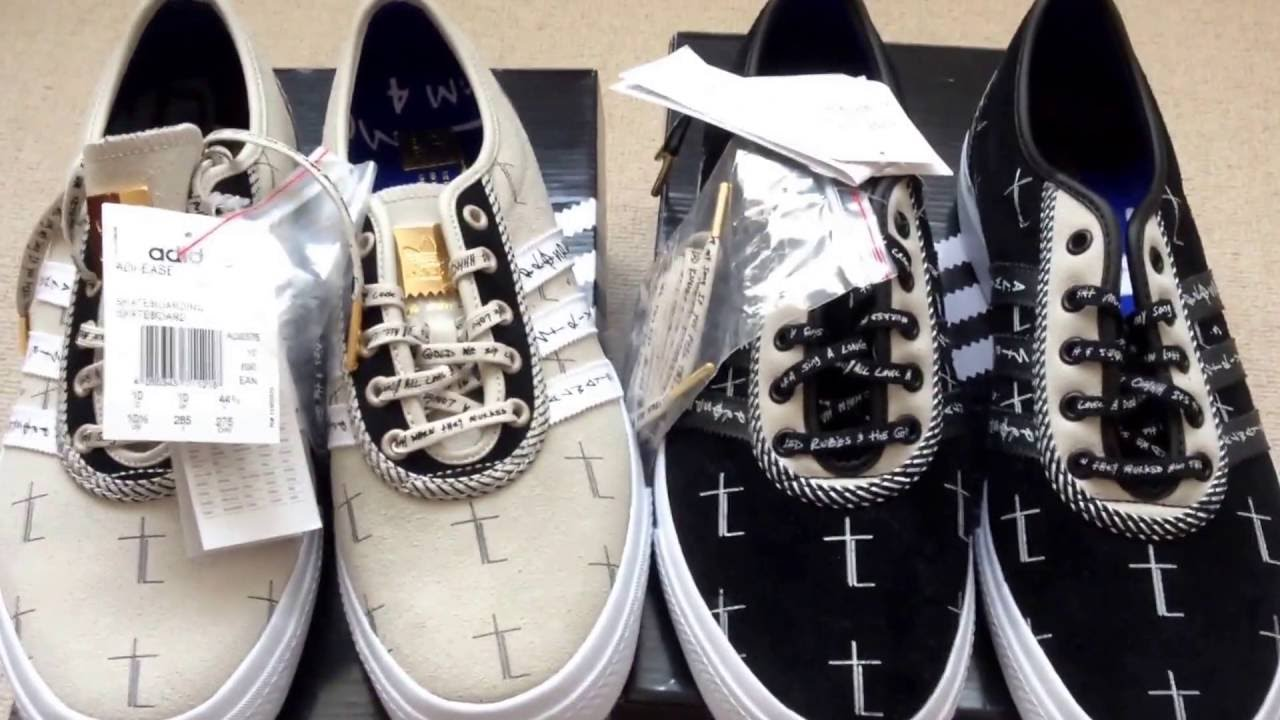 free shipping e250a 784ac Unboxing Adidas Adi Ease x AAP Ferg Hood Pope Pack