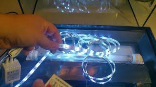 Aquarium Beleuchtung von Röhre auf LED umrüsten für unter 20 Euro im Eigenbau. DIY