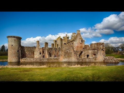 Caerlaverock Castle, Dumfries, Scotland