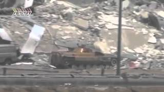 Сирия война  Контратака военных Подрыв БМП  Syria war news