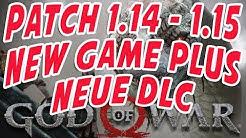 God of War - Patch 1.14 - 1.15 - New game+ und neue DLCs ?!