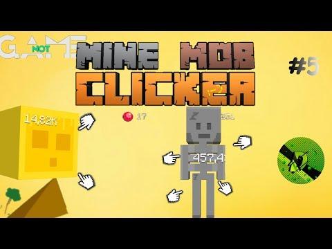 Mine Mob Clicker Rpg. 100 уровень!.Песчаные дюны.#5