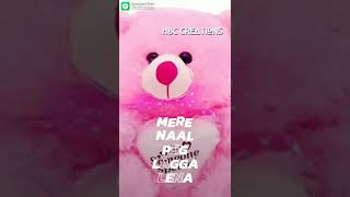 Adhi Adhi night tu mere naal peg laga lena happy teddy day my friends love you