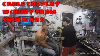 Cable Cosplay w/Rudy Campos from Skin Wars