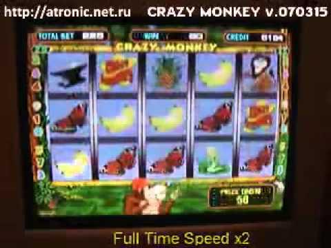 Видео Играть онлайн crazy monkey игровые автоматы играть