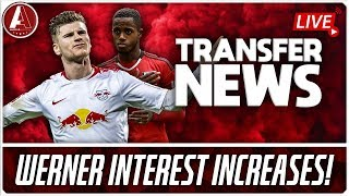 WERNER PURSUIT HOTS UP & BRANDT PRICE RISES! | LFC Transfer News & Chat