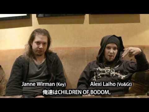 CHILDREN OF BODOM | 激ロック動画メッセージ
