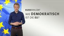 #kurzerklärt: Wie demokratisch ist die EU?