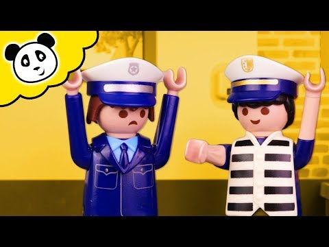 Playmobil Polizei - Verwechslung Im Gefängnis - Playmobil Film