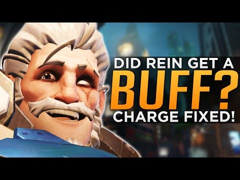 Overwatch: Reinhardt BUFFED!? - How The NEW CHARGE Works!