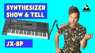 Synthesizer Show & Tell - Roland JX-8P & iPG-800