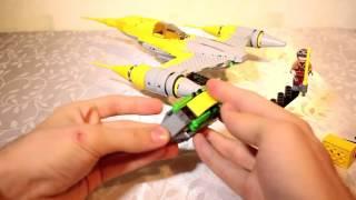 Обзор Lego Star Wars - 75092 - Лего Звездные войны Истребитель Набу / В продаже на TOY.RU