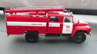 Огляд 3 випуску автолегенды СССР вантажівки ЗІЛ - 130 Ац - 40