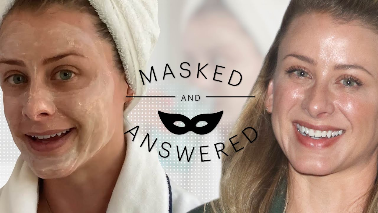 Lo Bosworth's 3-Step Morning Skincare Routine | Masked and Answered | Marie Claire