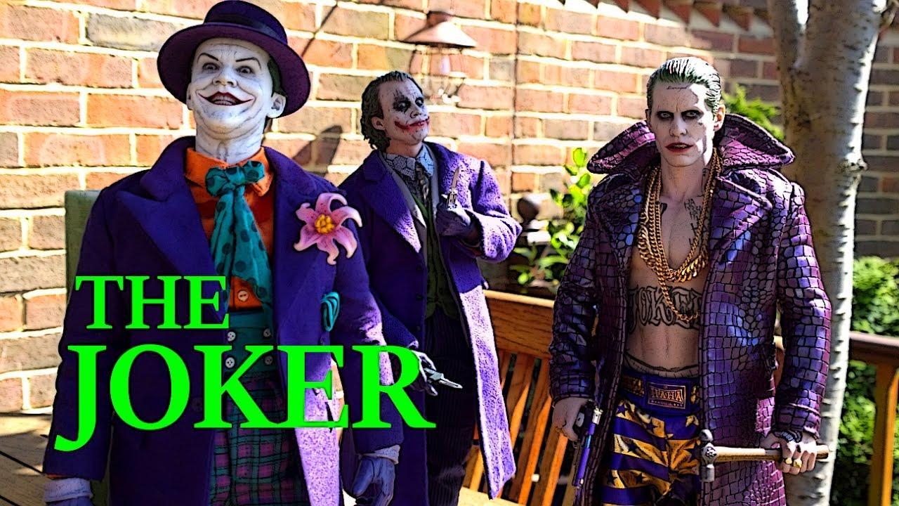osw.zone toys Suicide squad Joker ( Purple coat version ) True Light Review Part 2. Like...