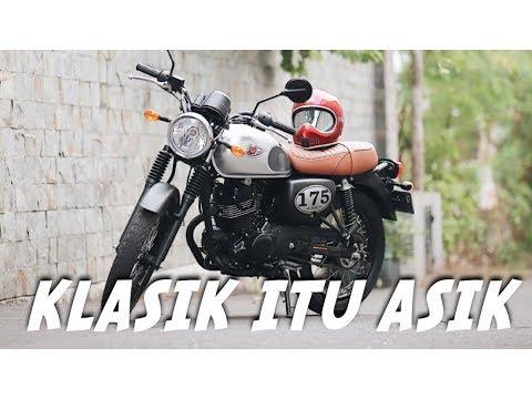 Motor Baru Lagi! Kawasaki W175 SE - #motovlog 217