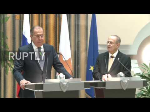 Cyprus: Lavrov and Cypriot counterpart Kasoulides look to broaden bilateral cooperation