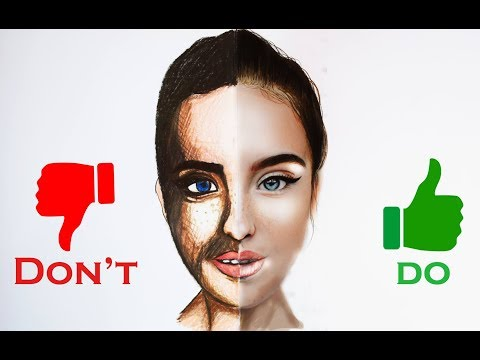 do's-&-don'ts-:-realistic-portrait-drawing