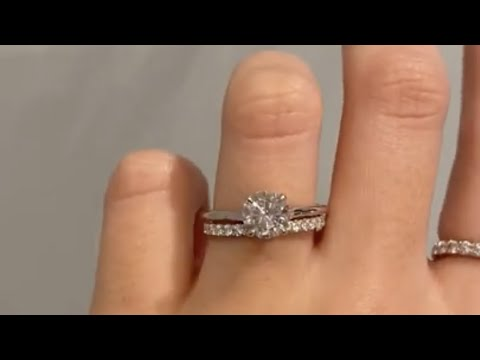 timeless-platinum-wedding-ring-set-with-1.2ct-round-diamond-&-diamond-wedding-band---aliss-&-bella
