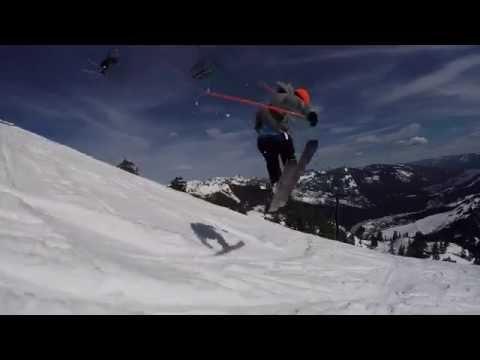 Leo Taillefer – Double Backflip @ Alpental