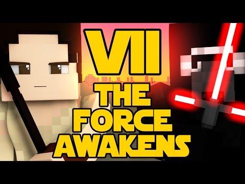 Minecraft Parody - STAR WARS: THE FORCE AWAKENS! - (Minecraft Animation)