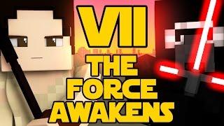 minecraft parody star wars the force awakens minecraft animation