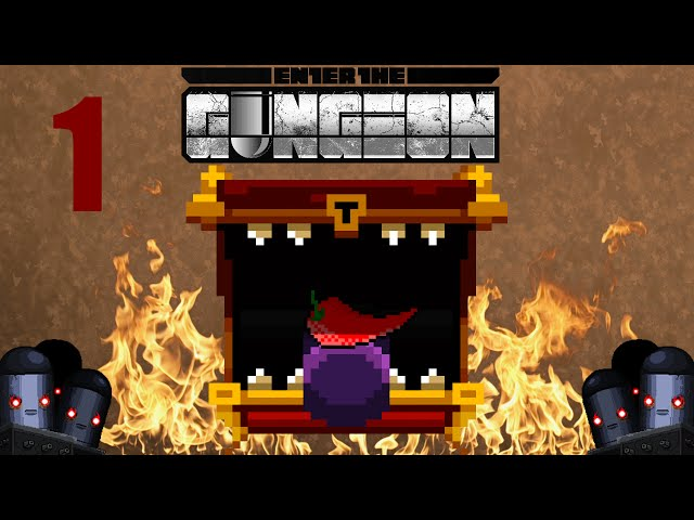 🎮 Enter the Gungeon | SPICY CHEST CHALLENGE | Part.1 | Gameplay FR