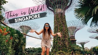 WORLD'S MOST UNIQUE GARDENS!? | Gardens By The Bay, Singapore