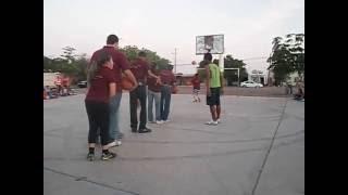 Equipo De Basquet Ball Muchachos Con Discapacidad Intelectual