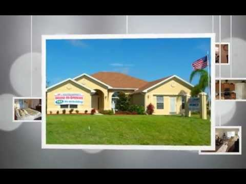 Cape coral florida model homes