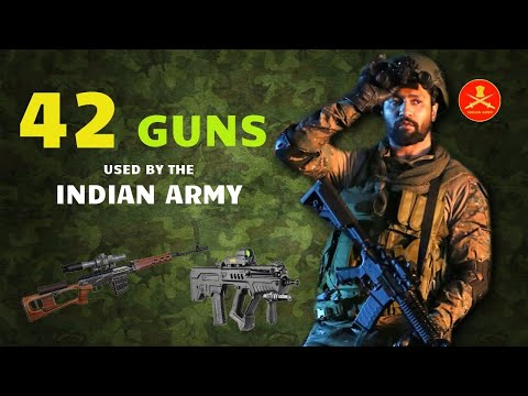 42 Guns & Weapons Used By The Indian Army (Hindi)