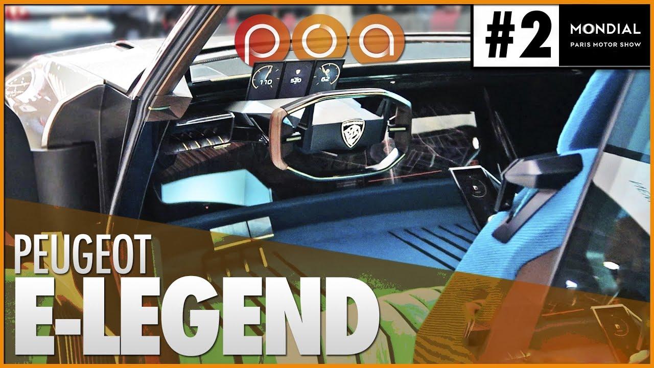 Peugeot E Legend La 504 Neo Retro Pour 2020 Youtube