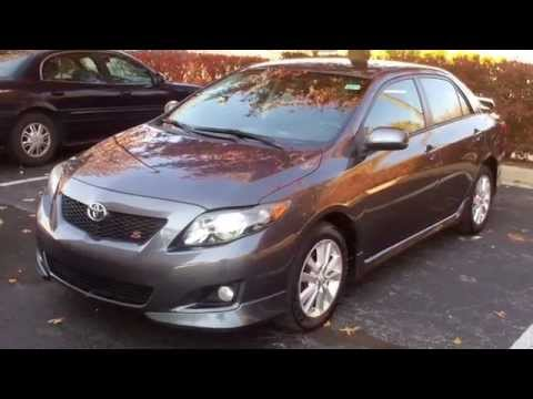 Beautiful Used 2009 Toyota Corolla S Navigation For Sale Georgetown Auto Sales KY  Kentucky SOLD