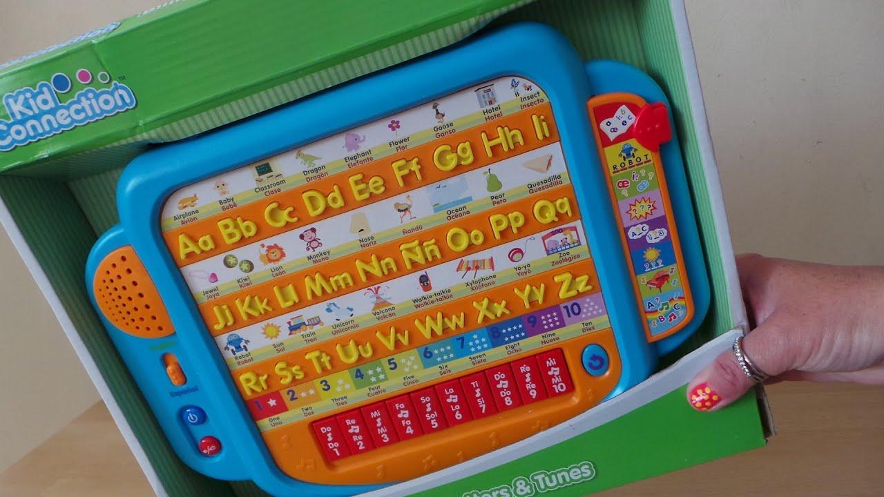 Walmart Kid Connection Bilingual Preschool Toy English
